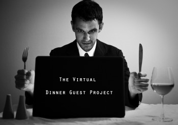 The Virtual Dinner Guest Project (photo cred. Michael Karsh)